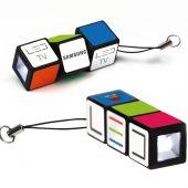 Брелки с фонариком «Кубик Рубика»
