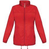 Ветровка женская Sirocco красная, размер S