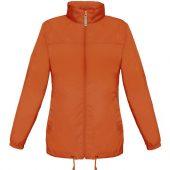 Ветровка женская Sirocco оранжевая, размер S