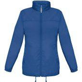 Ветровка женская Sirocco ярко-синяя, размер XXL