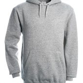 Толстовка Hooded серый меланж, размер L