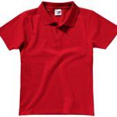 """Рубашка поло """"First"""" детская, красный (14), арт. 014237603"""