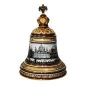 Штоф «Колокол» (цветной с золотом), 2,5л, арт. 014167203