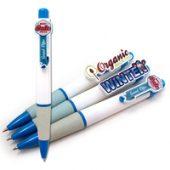 Ручки с фигурным акриловым клипом