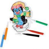 Надувные игрушки с раскрасками