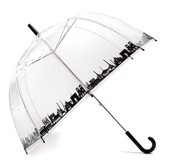 Зонты прозрачные с индивидуальной печатью под заказ