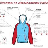Толстовки по индивидуальному дизайну