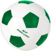 Футбольный мяч «Curve», зеленый/белый, арт. 014276803