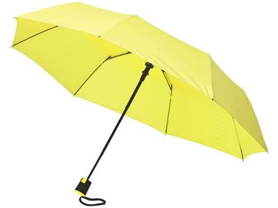 Зонт Wali полуавтомат 21″, неоново-зеленый, арт. 014346703