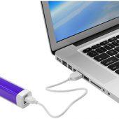 """Зарядное устройство """"Flash"""" 2200 мА/ч, пурпурный, арт. 014276103"""