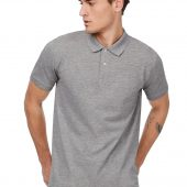 Рубашка поло мужская Inspire белая, размер XXL