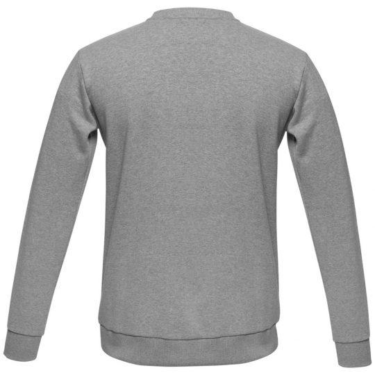 Толстовка Unit Toima Heavy серый меланж, размер L
