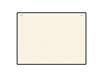Блокнот А5 «Megapolis Velvet» на резинке, салатовый