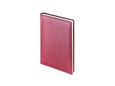 Ежедневник недатированный А5+ «Velvet», бордовый, арт. 014960203