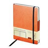 Ежедневник А5 недатированный «Zenith», оранжевый, арт. 014969203