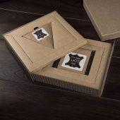 Набор подарочный LOFT:портмоне и чехол для наушников, коричневый