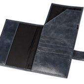 Бумажник путешественника «Druid» с отделением для паспорта, темно-синий