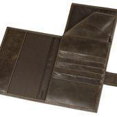 Бумажник путешественника «Druid» с отделением для паспорта, коричневый, арт. 014522203