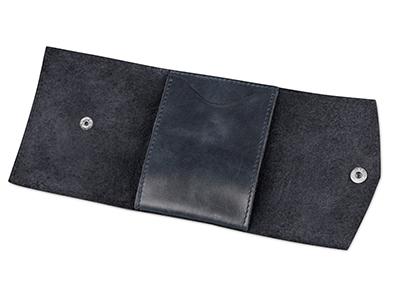Чехол для кредитных карт и банкнот «Druid», темно-синий, арт. 014522303