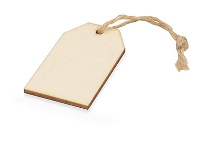 Набор деревянных ярлыков 5*3 см, 6шт, арт. 014562603