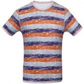 Футболка мужская RAYET двусторонняя, оранжевый/фиолетовый, размер S