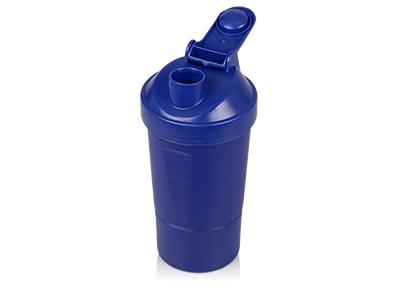 Шейкер для спортивного питания «Level Up», синий, арт. 014562803
