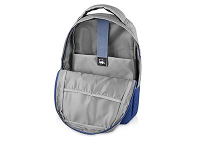 Рюкзак Fiji с отделением для ноутбука, серый/синий, арт. 017132903