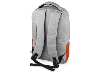 Рюкзак Fiji с отделением для ноутбука, серый/оранжевый, арт. 017133003