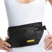 Сумка-кошелек на пояс Travel Blue Money Belt RFID, черный, арт. 014651403