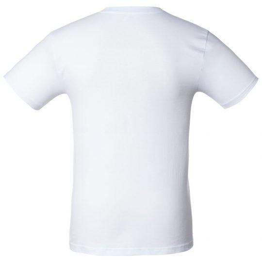Футболка «Аварийный выдох», белая, размер XL