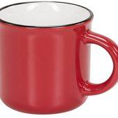 Керамическая походная кружка, красный, арт. 014858203