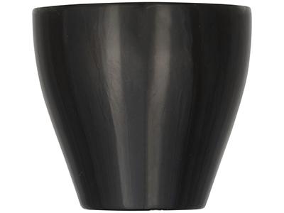 Цветная кружка для эспрессо Perk, черный, арт. 014858903