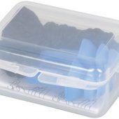 Многоразовые шумоподавляющие беруши в футляре, синий, арт. 014859203