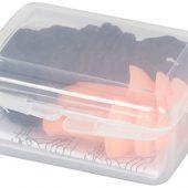 Многоразовые шумоподавляющие беруши в футляре, оранжевый, арт. 014859403