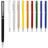 Ручка металлическая шариковая «Slim», синий, арт. 014870903