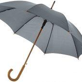 Зонт Kyle полуавтоматический 23″, серый, арт. 014820903