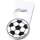 Футбольная открывалка для бутылок с магнитом, белый, арт. 014881803