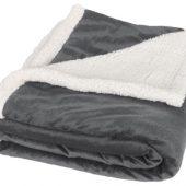 Плед «Sherpa», серый/белый, арт. 014830103