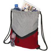Спортивный рюкзак-мешок, красный, арт. 014886403