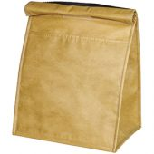 Бумажная сумка-холодильник для ланчей на 12 банок, коричневый, арт. 014886903