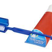 Зубная щетка Dana с выжимателем, синий, арт. 014887203