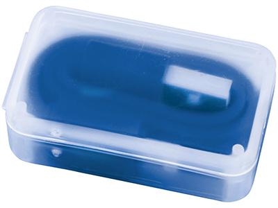 2 в 1 Кабель для зарядки в футляре, синий, арт. 014888703