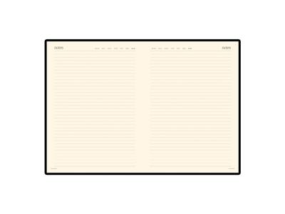 """Ежедневник недатированный  А4 """"Megapolis"""" черный, арт. 014901103"""