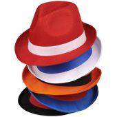 Шляпа Trilby, красный, арт. 014898403