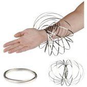 Кольцо для релаксации «Flow», серебристый, арт. 015091803