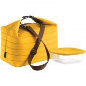 Набор Handy: термосумка и контейнер, большой, желтый