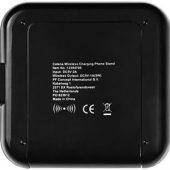 Портативное зарядное устройство-подставка для смартфона «Catena», черный, арт. 015030103