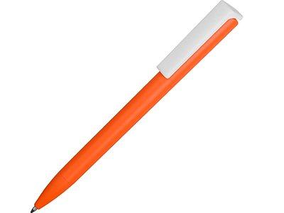 Ручка пластиковая шариковая «Fillip», оранжевый/белый, арт. 015122303