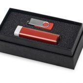 Набор Flashbank с флешкой и зарядным устройством, красный, арт. 015523303