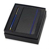 Набор Reporter с ручкой и блокнотом А6, синий, арт. 015524303